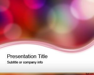 Plantilla PowerPoint con colores claros PPT Template