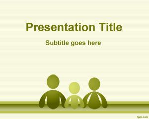 People free powerpoint templates you can download this free family powerpoint template and background theme for toneelgroepblik Choice Image