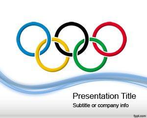 Plantilla PowerPoint de Juegos Olímpicos PPT Template