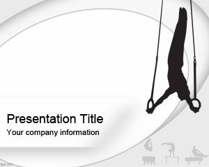 Plantilla PowerPoint de Gimnasia Olímpica PPT Template