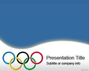 Plantilla PowerPoint de Olimpiadas PPT Template