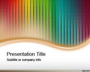 Plantilla PowerPoint con colores Pasteles
