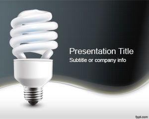 Plantilla PowerPoint de Electricidad PPT Template