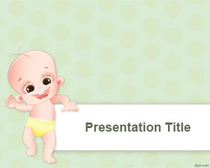 Early Steps PowerPoint Template