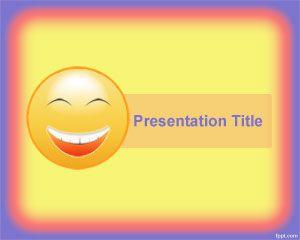 Plantilla PowerPoint de Felicidad