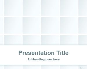 free Gradient Tile PowerPoint Template