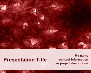 red – free powerpoint templates, Powerpoint templates