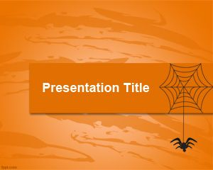Animals free powerpoint templates this free web spider ppt template can be used for presentations on internet web or information about insects and spiders you can free download other animal toneelgroepblik Images
