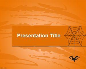 Web & Spider PowerPoint Template