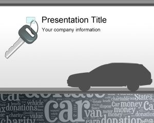 Free Donate My Car PowerPoint Template