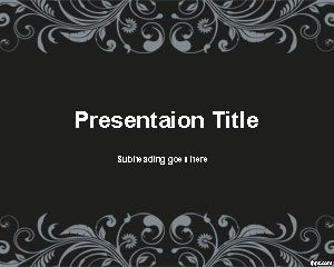 classic powerpoint template
