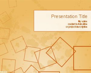 abstract – free powerpoint templates, Powerpoint templates
