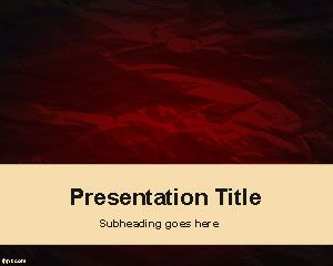 fashion – free powerpoint templates, Powerpoint Student Presentation Template Brown, Presentation templates