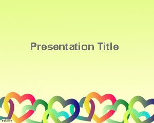 Free Valentine's Day presentation template for PowerPoint and Google Slides