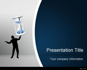 Objects free powerpoint templates you can download this free sand clock powerpoint background and ppt template to make awesome presentations on time management as well as business toneelgroepblik Gallery