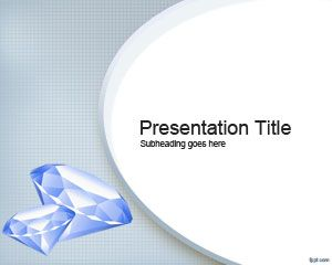 Free Diamond PowerPoint Template