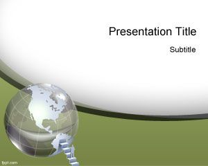 Global Resources PowerPoint Template