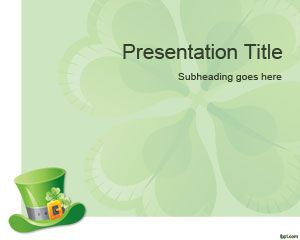 free Lucky PowerPoint Template