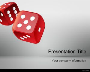 Free Roll the Dice PowerPoint Template