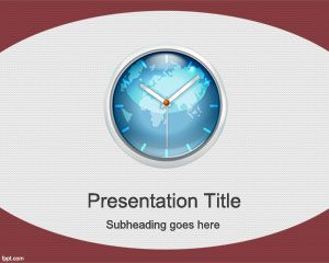 Business finance free powerpoint templates you can download this free world time powerpoint template to make powerpoint presentations on time management and awesome slide designs focused on global toneelgroepblik Gallery