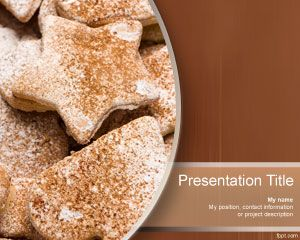 food and drinks – free powerpoint templates, Presentation templates