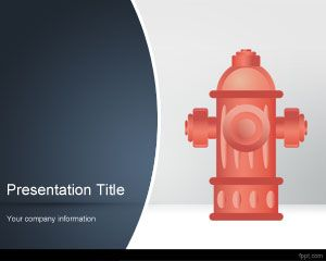 FREE Hydrant PowerPoint Template