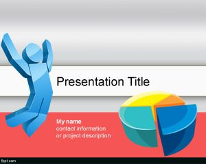 leadership – free powerpoint templates, Modern powerpoint
