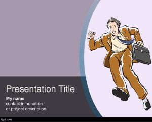 Free Personal Development PowerPoint Template