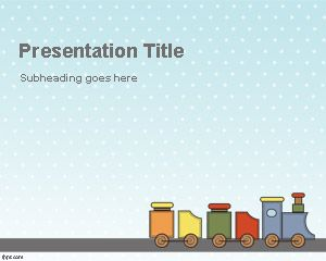 Toy Train PowerPoint Template