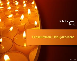 Festival of Lights PowerPoint Template