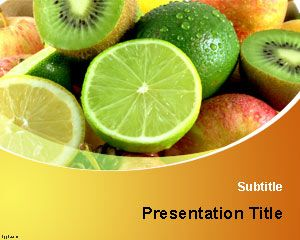 Vitamins PowerPoint Template