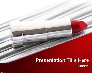 Lipstick PowerPoint Template