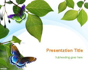You Can Download Free Spring PowerPoint Backgrounds And Springtime PPT Templates To Make Awesome Presentations With Original Slide Designs