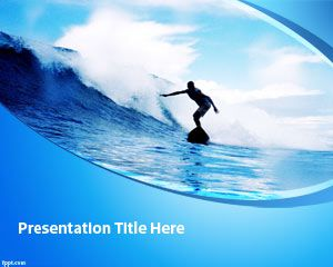 Surfing PowerPoint Template