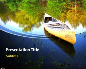 Canoe PowerPoint Template