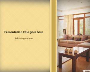 Lounge PowerPoint Template