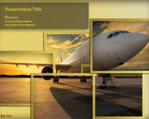Transportation free powerpoint templates you can download this free template to prepare presentations on travel fare flights as well as other aviation backgrounds with powerpoint 2010 and 2013 toneelgroepblik Image collections