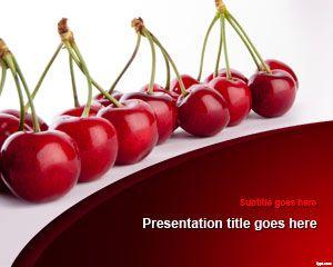 Cherries PowerPoint Template