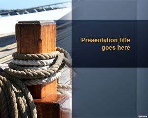 Dock PowerPoint Template