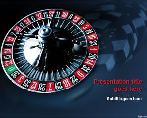 Casino Roulette PowerPoint Template