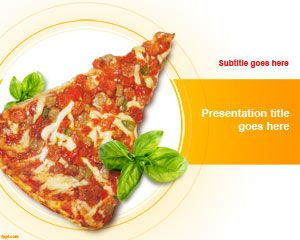 Pizza Slice PowerPoint Template