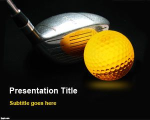 Free Golf Powerpoint Templates