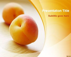 Health free powerpoint templates you can download free fruit powerpoint backgrounds and slide designs to make presentations on recipes and diet free peach powerpoint template and other toneelgroepblik Choice Image