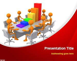 Business Teamwork PowerPoint Template