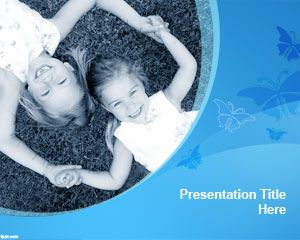 People free powerpoint templates you can download this free sisters powerpoint template to make slides for family presentations and any other presentation design with two sisters toneelgroepblik Images