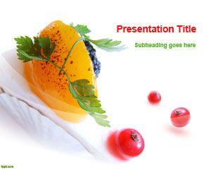 Dessert PowerPoint Template