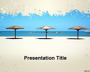Objects free powerpoint templates you can download this free powerpoint template to make presentations on travel and vacations to the beach free umbrellas powerpoint template for beach can toneelgroepblik Images