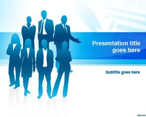 Free business team powerpoint template for Team building powerpoint presentation templates