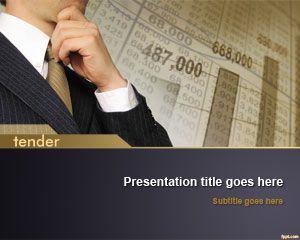 Tender PowerPoint Template