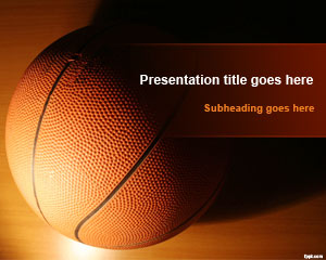 Basketball Training PowerPoint Template